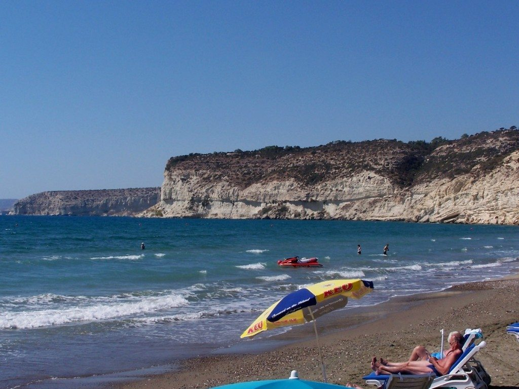 Traumhafte Strände bietet Zyperns Südküste. (Bild: Dieter Schütz / pixelio.de)