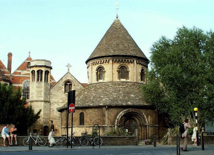 Church of the Holy Sepulchre in Cambridge (Bild: Robert Edwards, Wikimedia, CC)