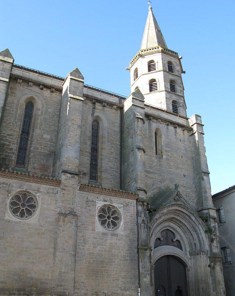 Stiftskirche Saint-Michel in Castelnaudary (Bild: Sylvain Machefert, Wikimedia, CC)