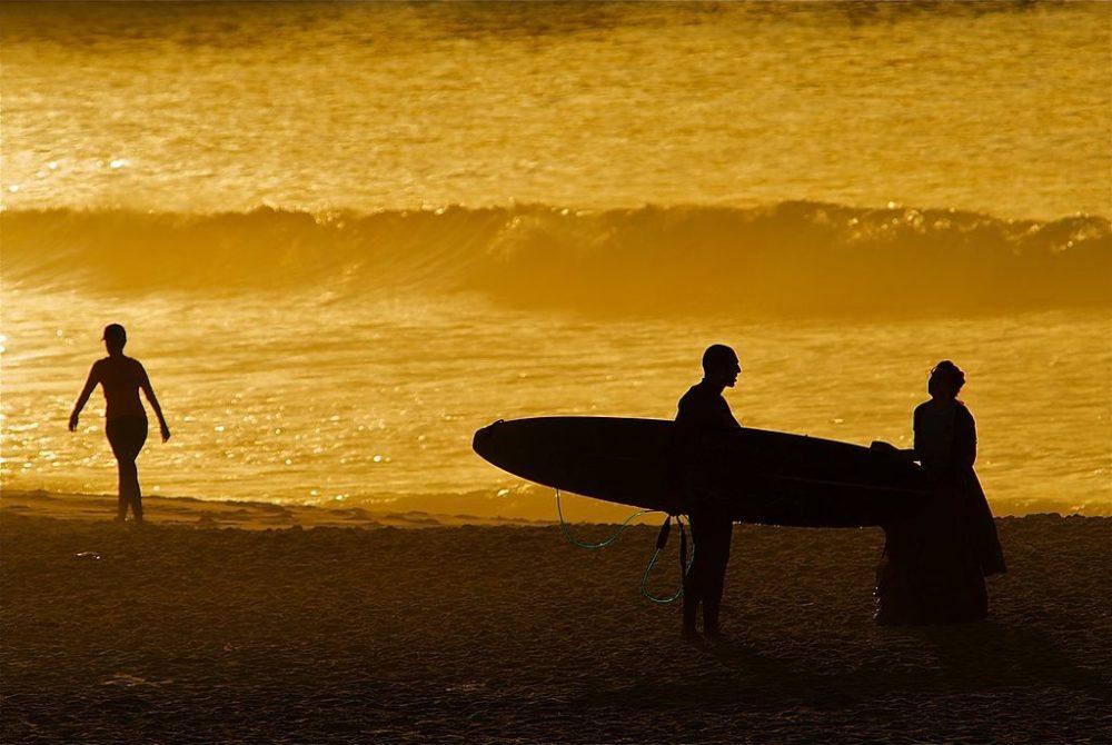 Biondi Beach in Sydney beim Sonnenuntergang  (Bild: Taro Taylor, Wikimedia, CC)