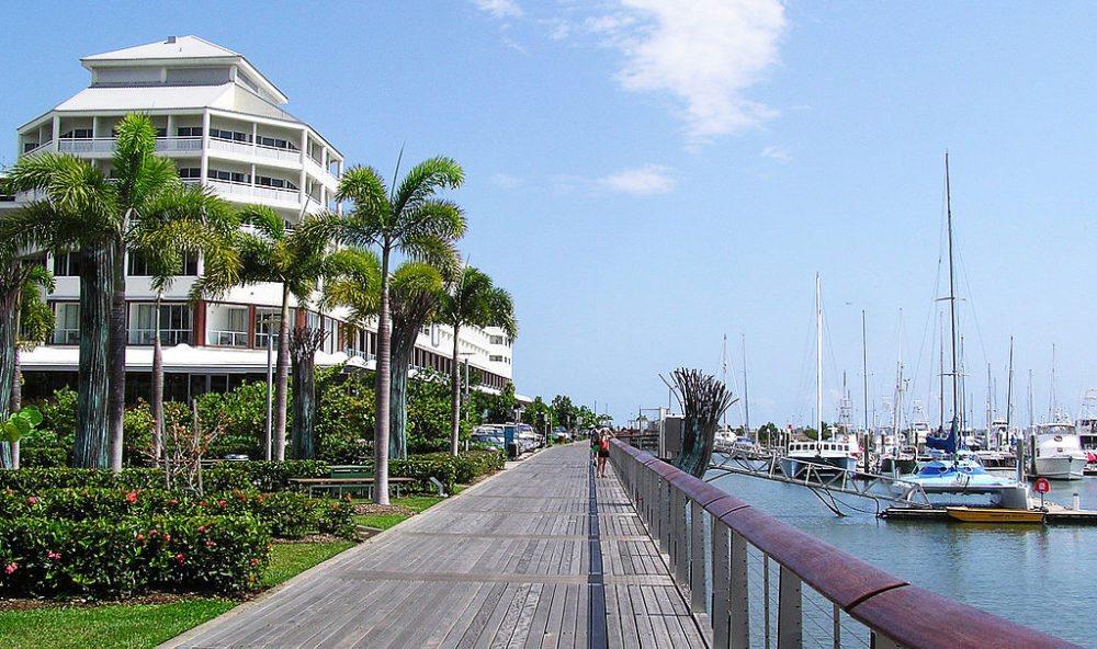 Hafen von Cairns  (Bild: Donaldytong, Wikimedia, CC)