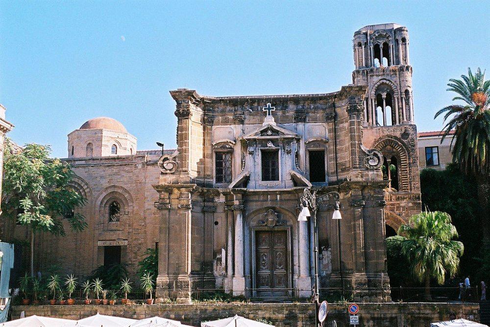 Kirche der Heiligen Maria vom Ammiratus – La Martorana (Bild: Bernhard J. Scheuvens, Wikimedia, CC)