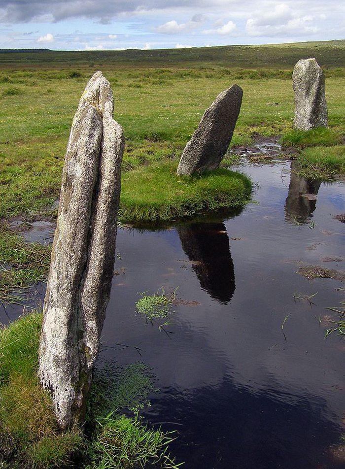 Bodmin Moor Cornwall ( Bild: JimChampion, Wikimedia, CC)