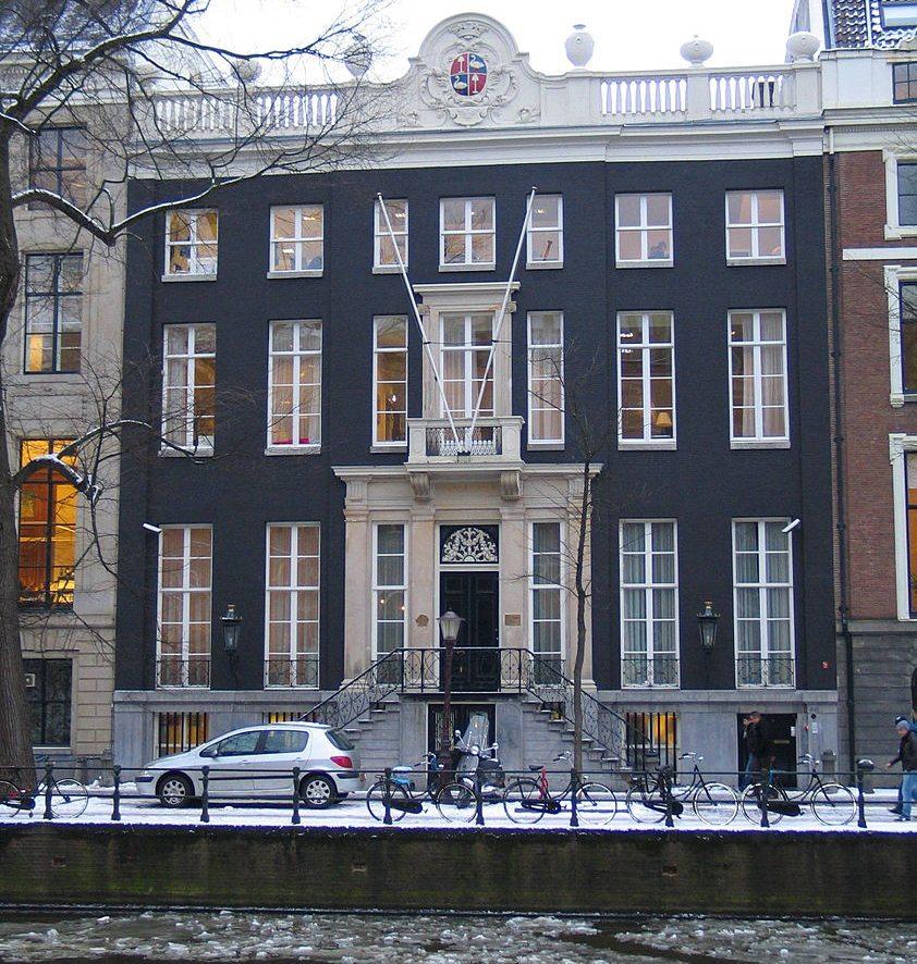 Amsterdamer Sitz von Viktor&Rolf in der Herengracht 446 (Bild: Taks, Wikimedia, CC)