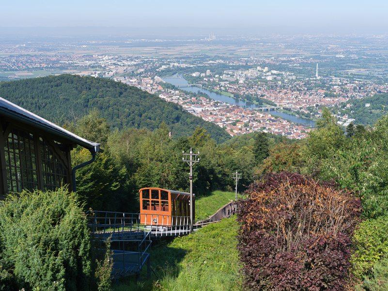 Heidelberg von oben (Bild: eyetronic, fotolia)