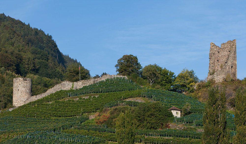 Burgruine Freudenberg in Bad Ragaz (Bild: Roland Zumbuehl, Wikimedia, CC)