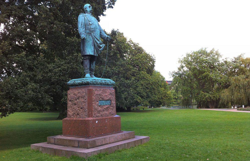 Bismarck-Statue im Hiroshima-Park (Bild: KarleHorn, WIkimedia, CC)