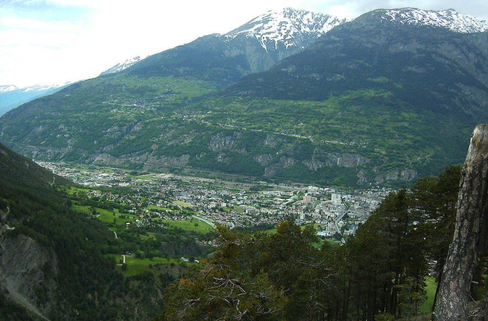 Herrliche Berglandschaft um Brig im Kanton Wallis (Bild: Bene16, Wikimedia, CC)