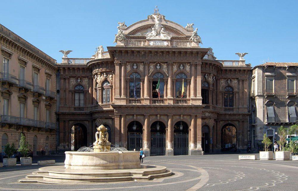Teatro Massimo Bellini, Catania (Bild: Berthold Werner, Wikimedia, CC)