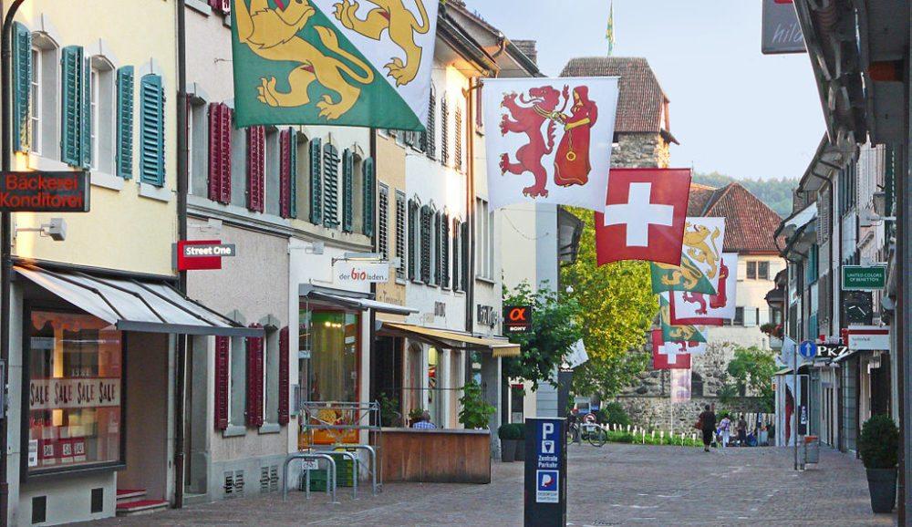 In der Altstadt von Frauenfeld (Bild:  Pingelig, WIkimedia, CC)