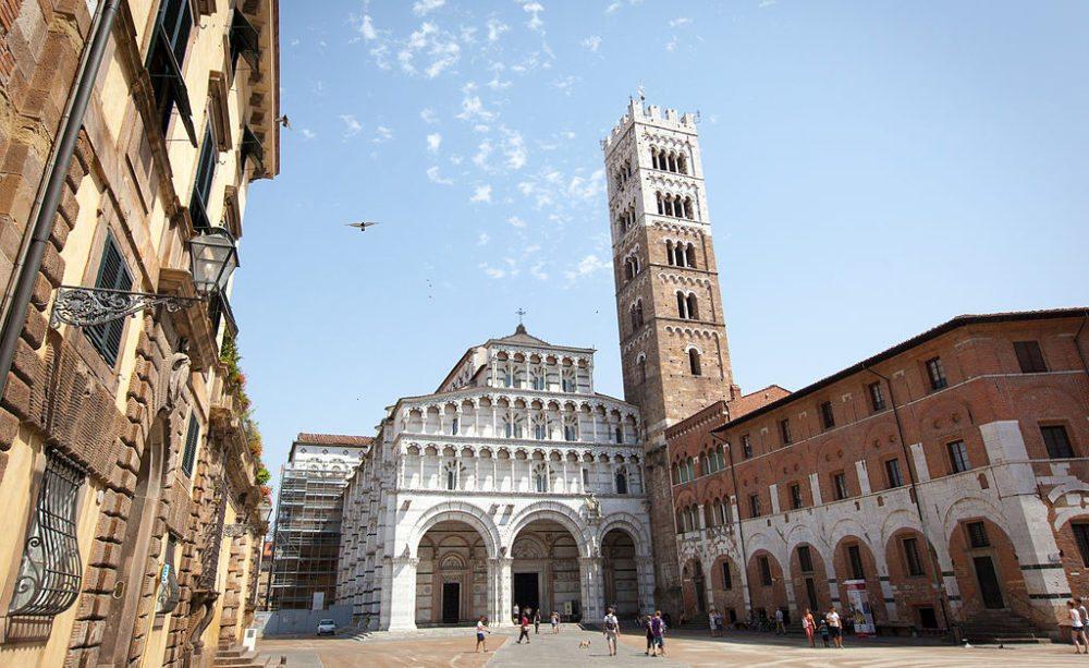 Duomo di San Martino in Lucca (Bild: jimmyweee, Wikimedia, CC)