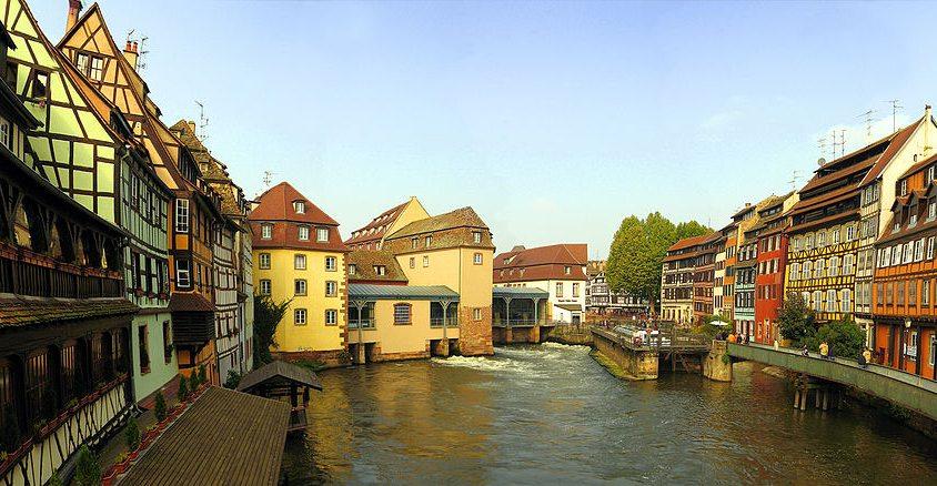 Gerberviertel in Strassburg (Bild: Andreas Trepte, Wikimedia, CC)