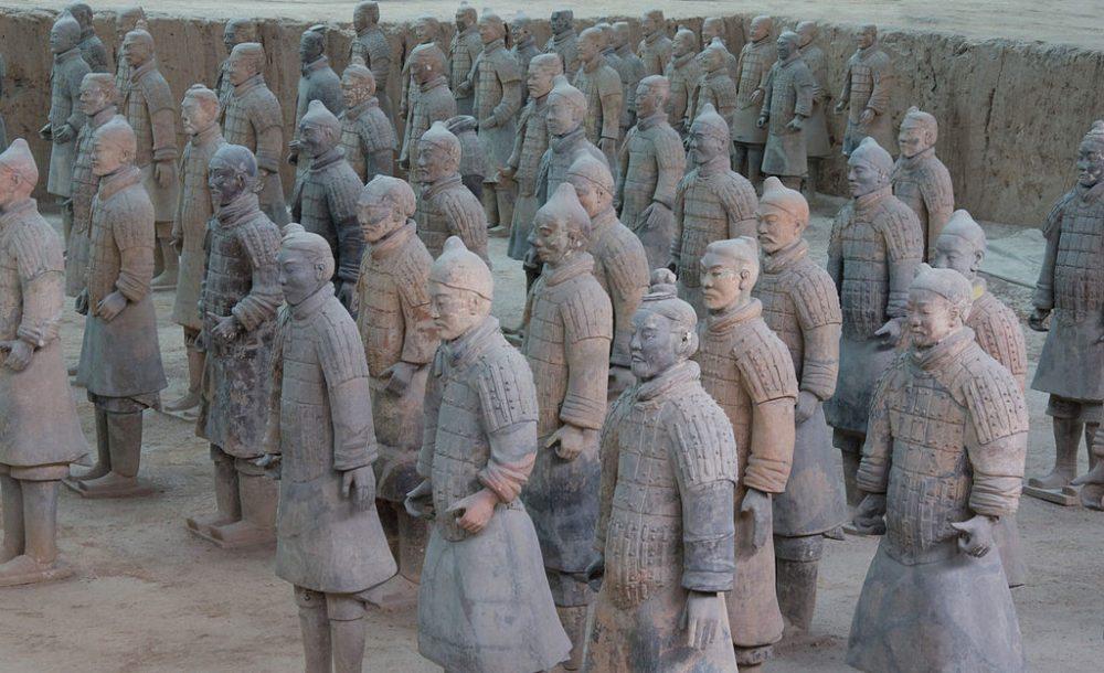 Terrakotta-Krieger von Xi'an (Bild: Maros, Wikimedia, CC)
