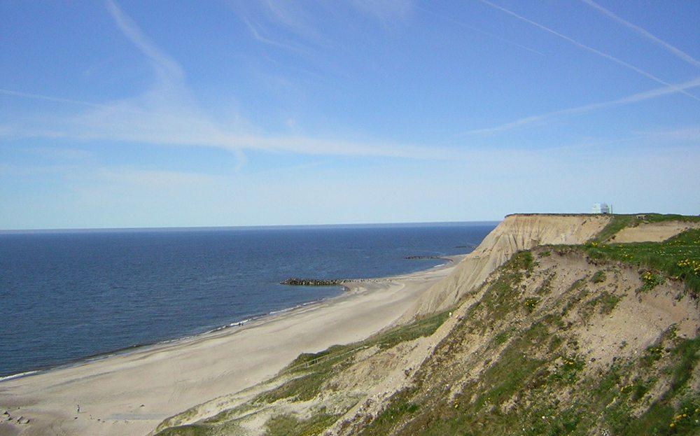 Steilküste bei Bovbjerg, Dänemark (Bild: Gerhard Frassa  / pixelio.de)