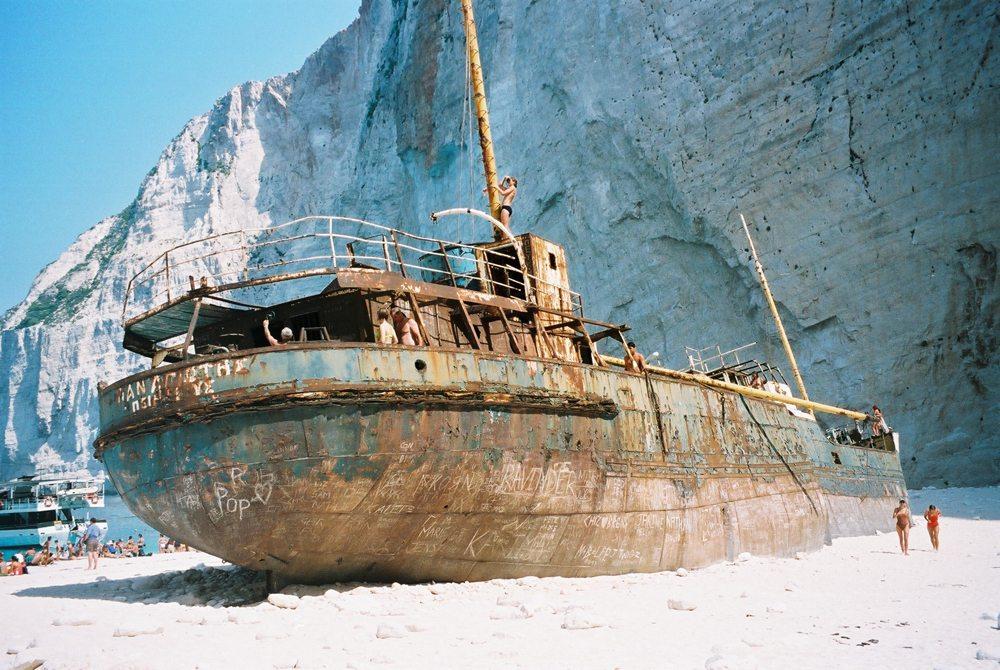 Schmugglerschiff auf Zakynthos (Bild: Dieter Spillmann / pixelio.de)