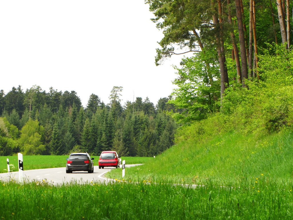 Fahrt durchs Grüne (Bild: Rainer Sturm  / pixelio.de)