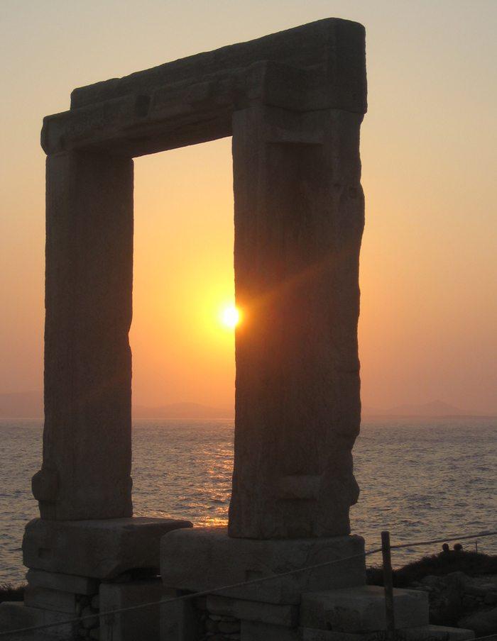Portara von Naxos (Bild: F. Foster  / pixelio.de)