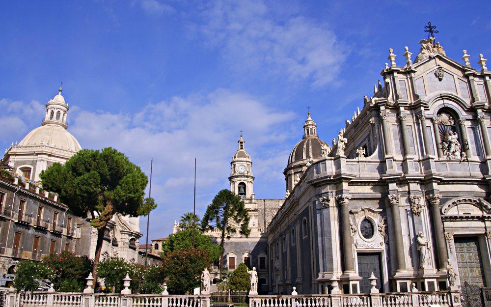 Kathedrale der Heiligen Agatha, Catania (Bild: Katharina Wieland Müller  / pixelio.de)
