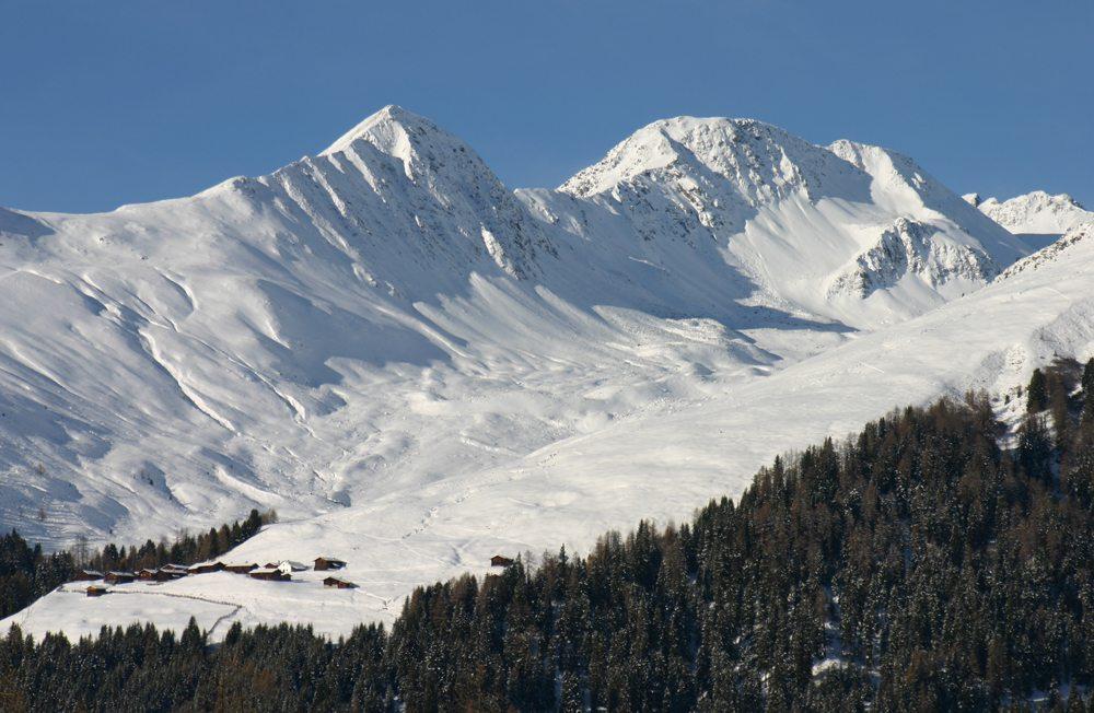 Clavadel, Skigebiet Davos (Bild: michael berger  / pixelio.de)