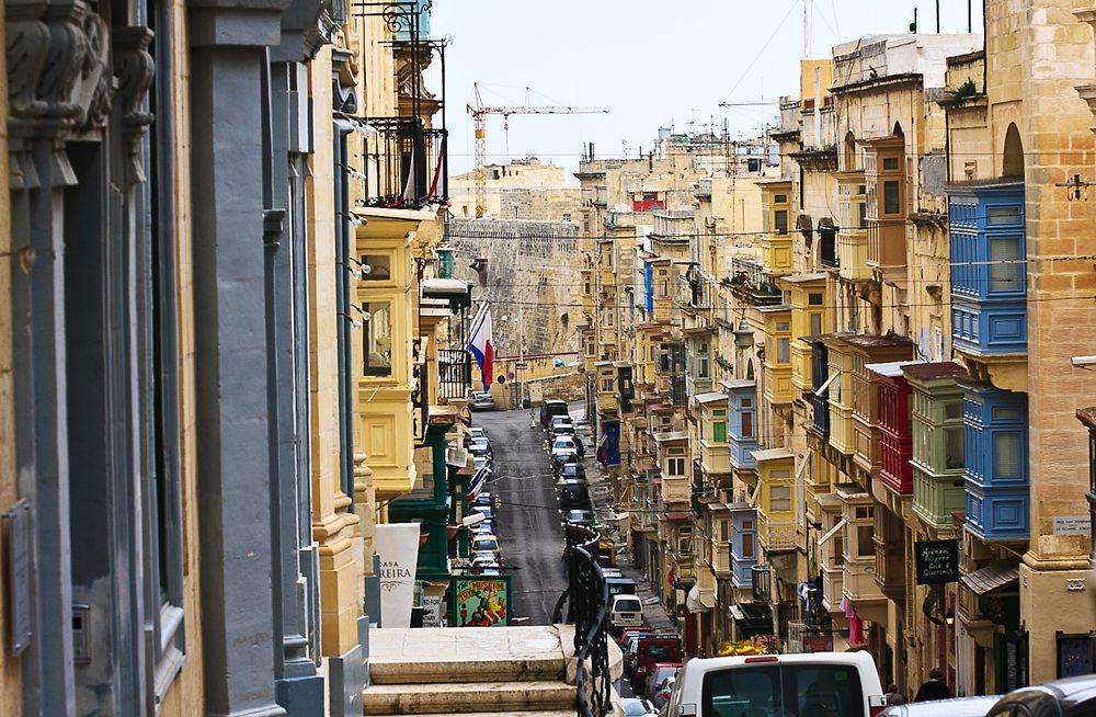 Buntes Valletta (Bild: Marianne J.  / pixelio.de)