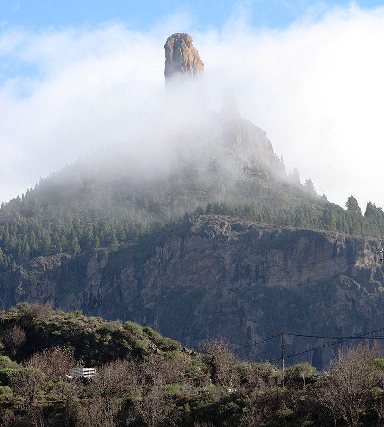 Roque Nublo auf Gran Canaria (Bild: Bjoertvedt, Wikimedia, CC)