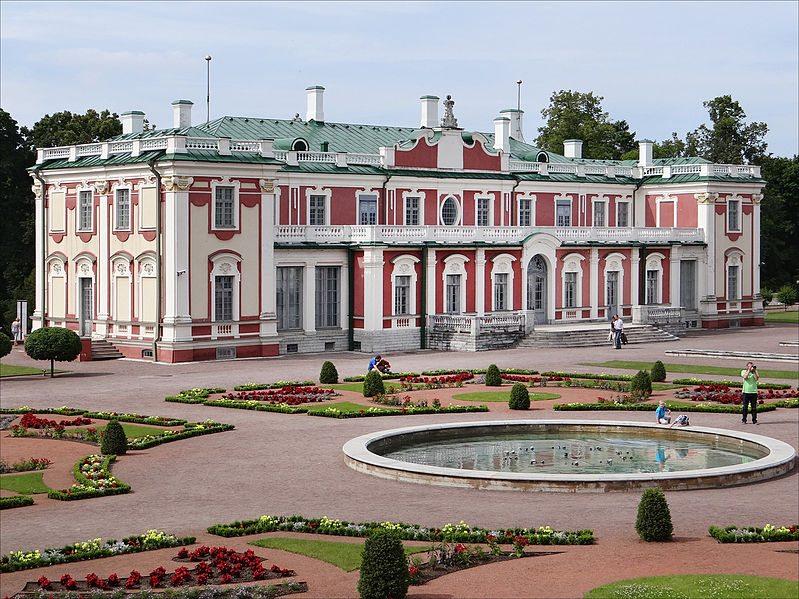 Ehemaliger Zarenpalast im Kadriorg-Park (Bild: dalbera / Wikimedia / CC)