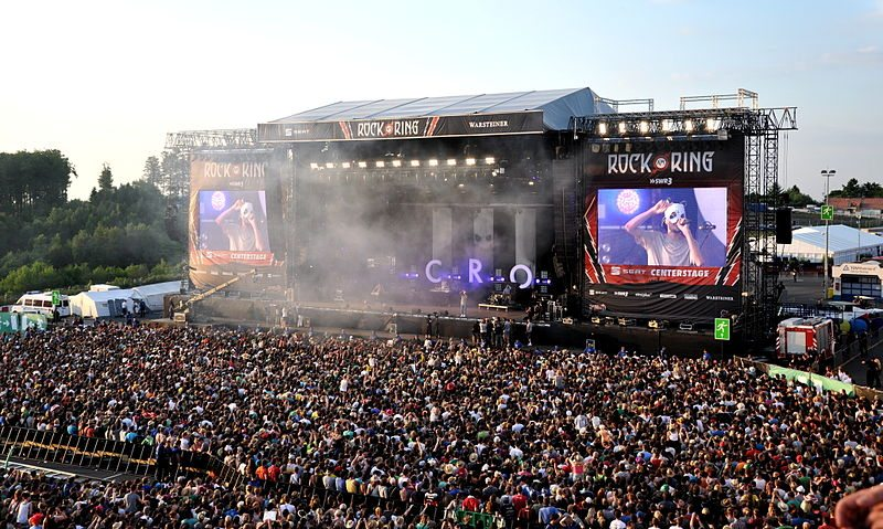 Festival der Superlative: Rock am Ring (Bild: Achim Raschka / Wikimedia / CC)