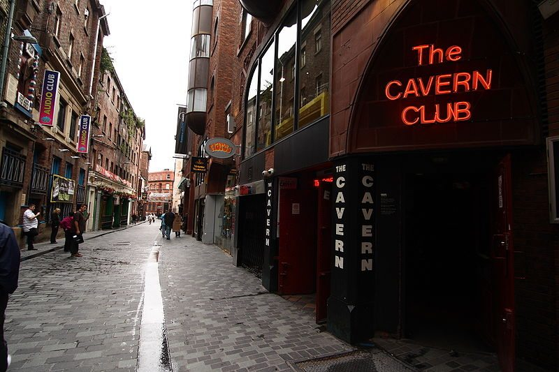 Cavern Club in der Mathew Street (Bild: spaztacular / Wikimedia / CC)