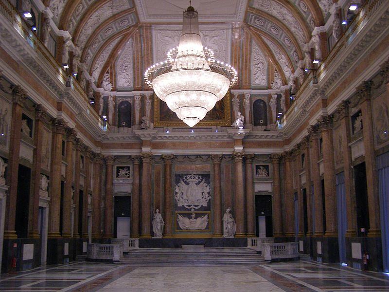Saal des Grossen Rates im Palazzo Ducale (Bild: Andrzej Otrębski / Wikimedia / CC)