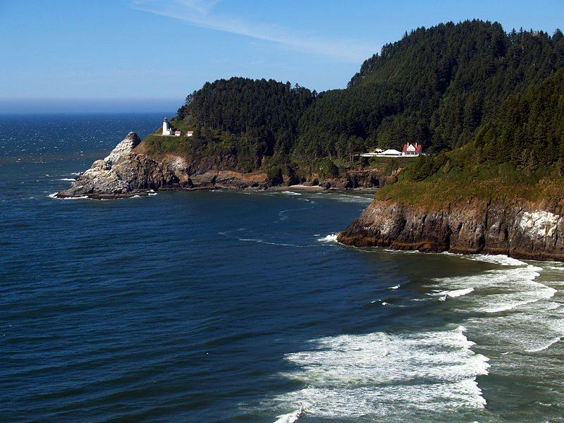 Heceta Head Lighthouse in Oregon (Bild: Pinchof 2.0 / Wikimedia / CC)