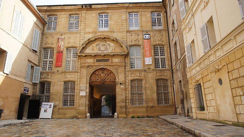 Ehemaliger Erzbischofpalast von Aix-en-Provence (Bild: JM Campaner / Wikimedia / CC)