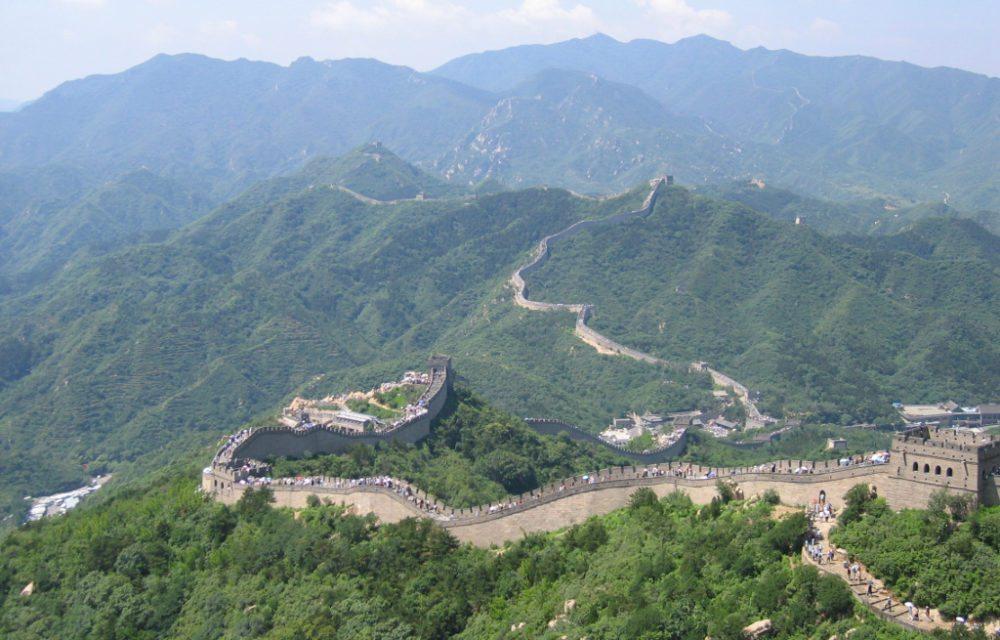Die Chinesische Mauer bei Badaling (Bild: Samxli, Wikimedia, CC)