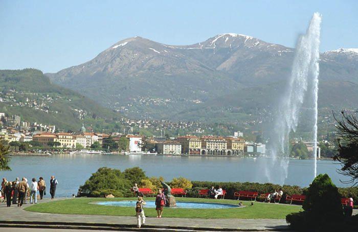 Sommerstimmung in Lugano (Bild: Bernd Gehrmann, Wikimedia, CC)