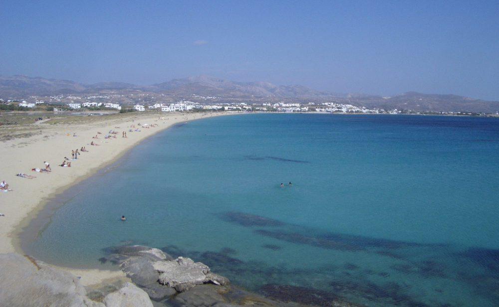 Strand auf Naxos (Bild: Ildebrando, Wikimedia)