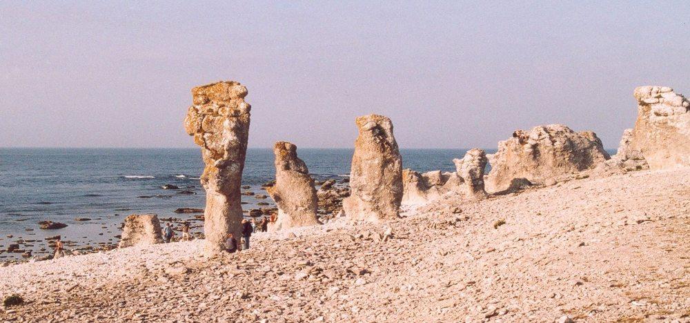 Rauksteine auf Gotland (Bild: Christian Koehn, Wikimedia, CC)