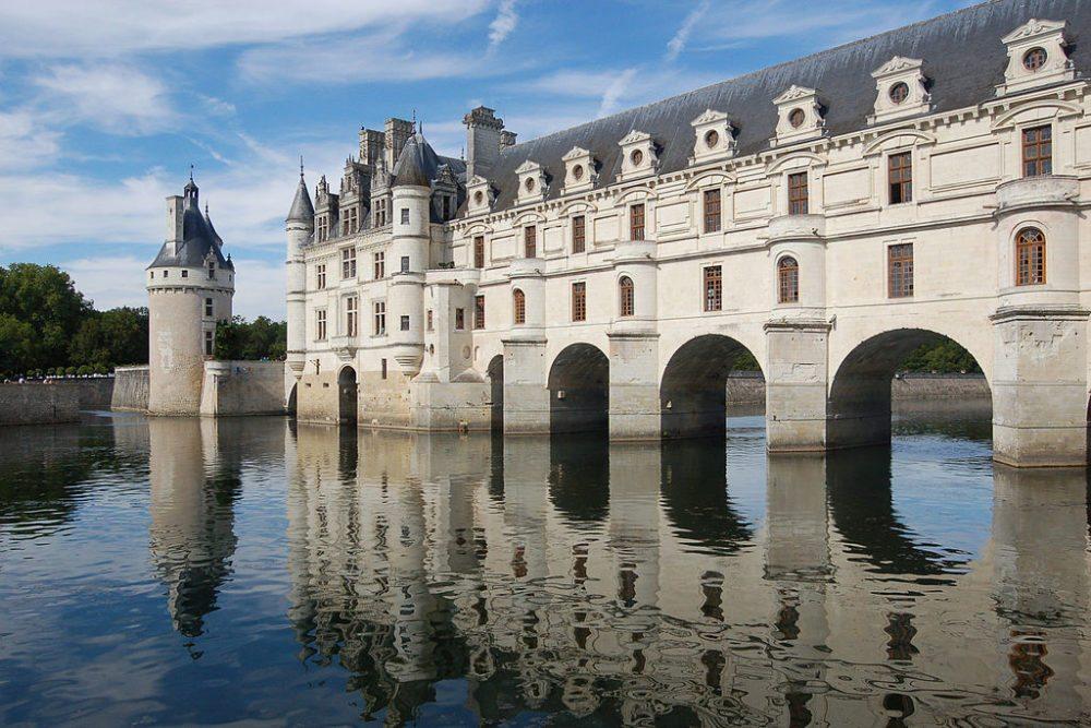 Schloss Chenonceau, Frankreich (Bild: Wladyslaw, Wikimedia, CC)