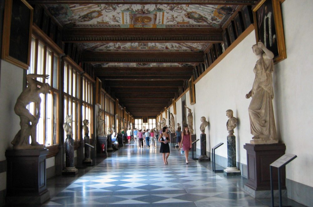 Gang in Uffizien (Bild: )