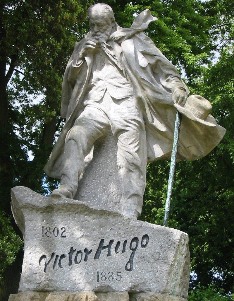 Vuktor-Hugo-Denkmal in Candie Gardens, Guernsey (Bild: Jean Boucher, Wikimedia)