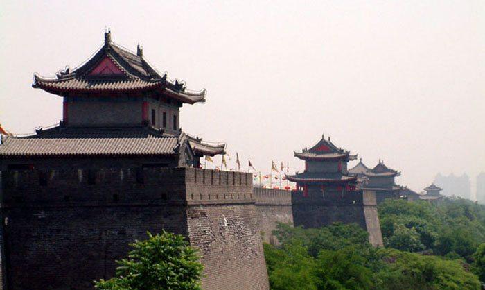 Stadtmauer von Xi'an (Bild: Jamguo, Wikimedia, CC)