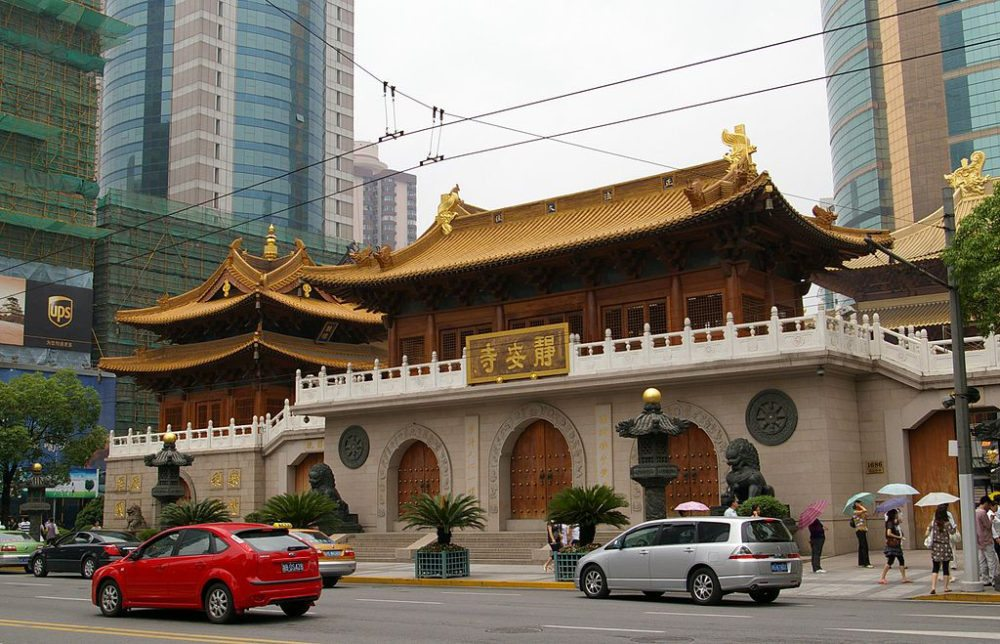 Jing'an Tempel in Shanghai (Bild: Jakub Hałun, Wikimedia, CC)