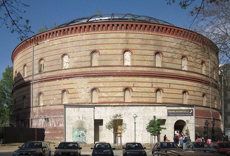 Der Fichtebunker und die dazugehörigen Bauten sind als Gesamtanlage denkmalgeschützt (Bild: Beek100, Wikimedia, CC)