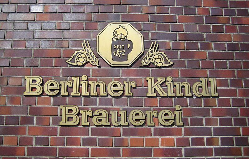 Beschriftung des Kindl Werk-Gelände an der Werbellinstraße 50 in Neukölln (Bild: Denis Apel, Wikimedia, CC)