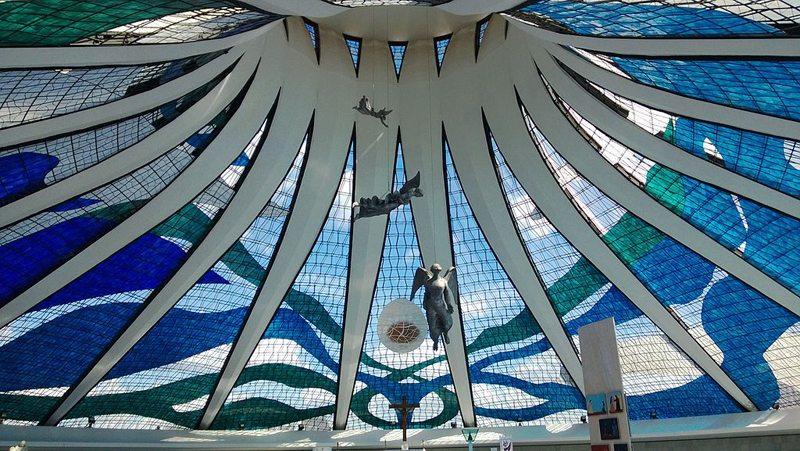 Die Kuppel der Catedral Metropolitana Nossa Senhora Aparecida (Bild: Setnab, Wikimedia, CC)