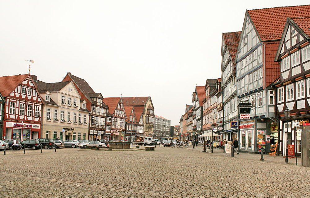 Zentrum der Celler Altstadt (Bild: losch, Wikimedia)