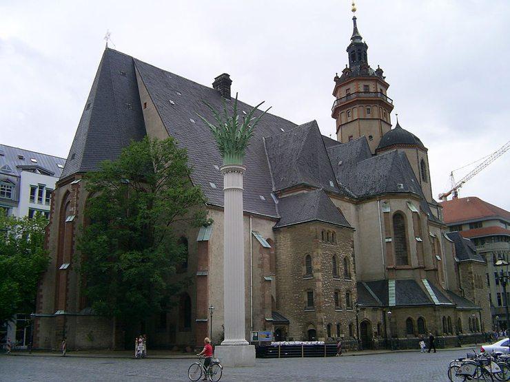 Nikolaikirche in Leipzig (Bild: Twenglish, Wikimedia)