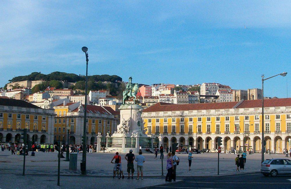 Praca do Comercio in Lissabon (Bild: Koshelyev, Wikimedia, CC)