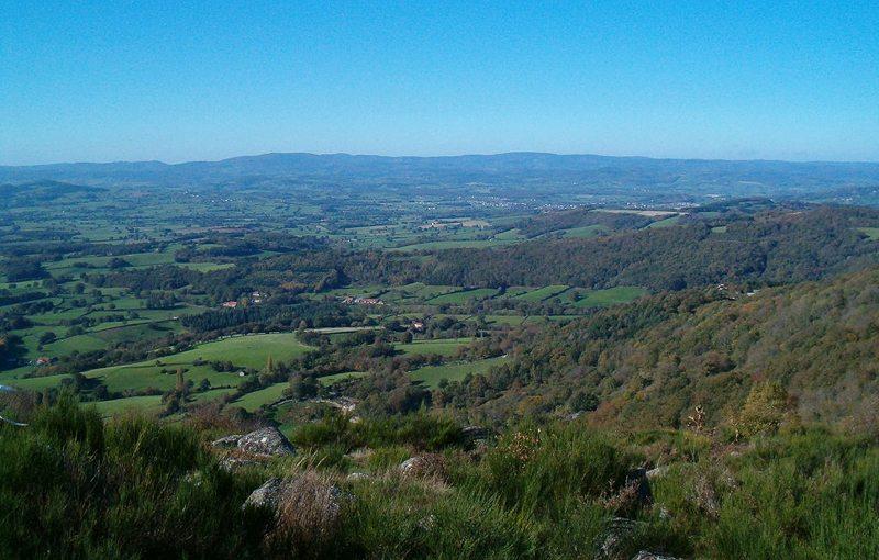 Panorama von Morvan (Bild: Propre travail, Wikimedia, CC)