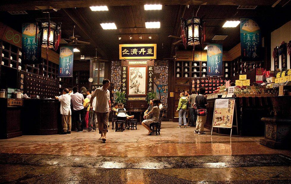 Alte TCM-Apotheke in Hangzhou (Bild: Avel-Breizh, Wikimedia)