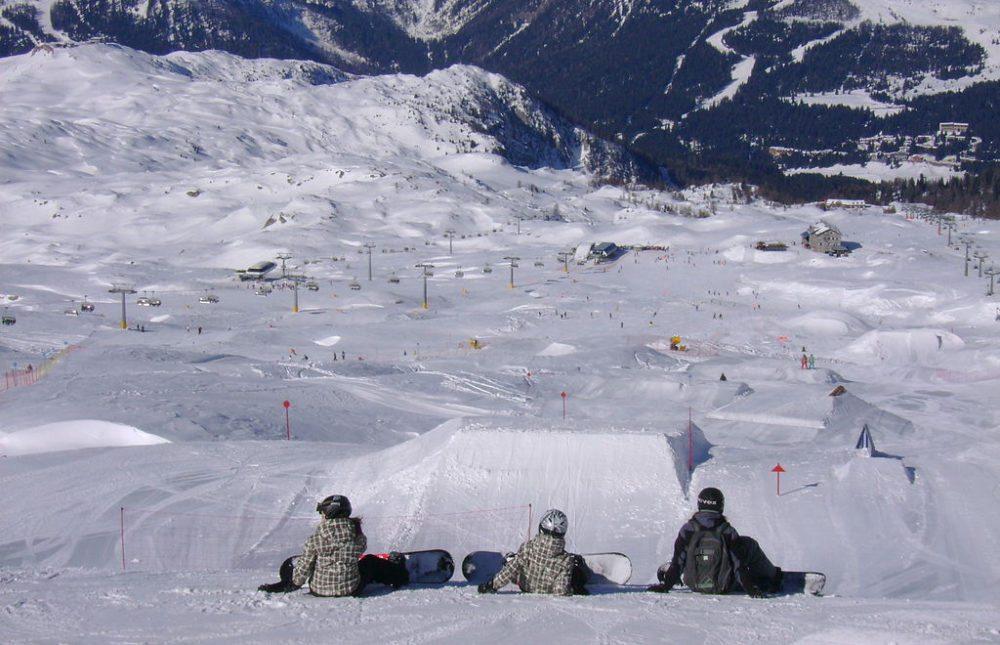 Skigebiet von Madonna di Campiglio im Val di Sole (Bild: Luca Capuccini, Wikimedia)