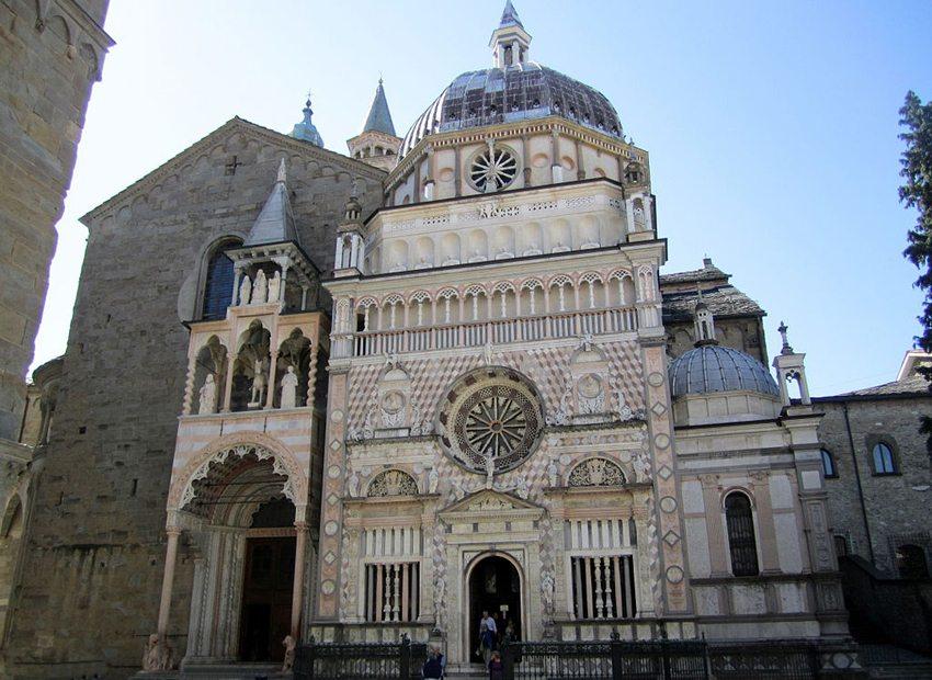 Basilika Santa Maria Maggiore in Bergamo (Bild: Andres rus, Wikimedia, CC)